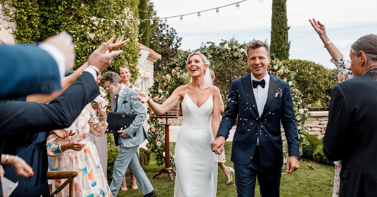 Julia & Mark's La Bastide de Gordes Wedding