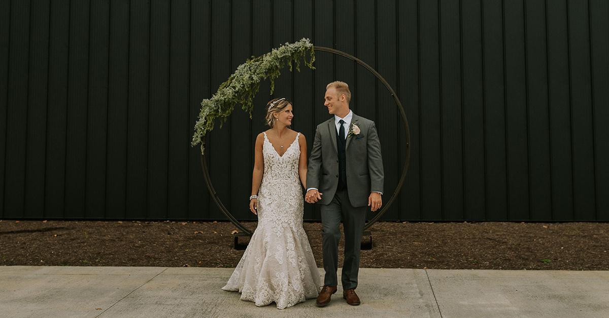 Tayler & Ethan's Industrial Meets Modern Wedding