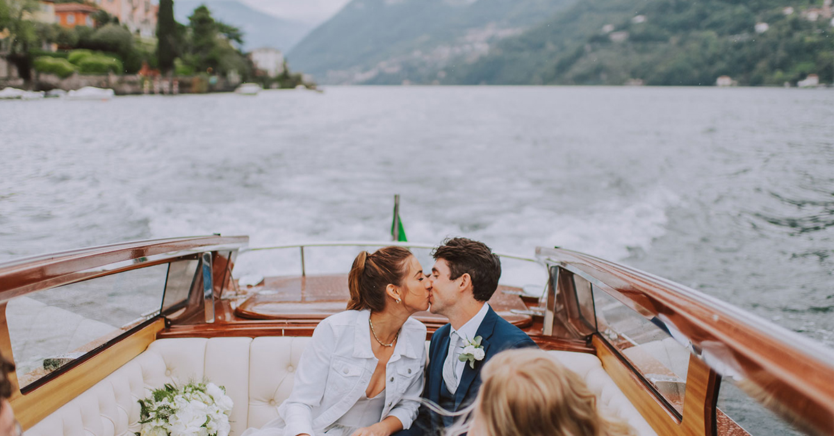 Laurie & Parker's Intimate Lake Como Wedding