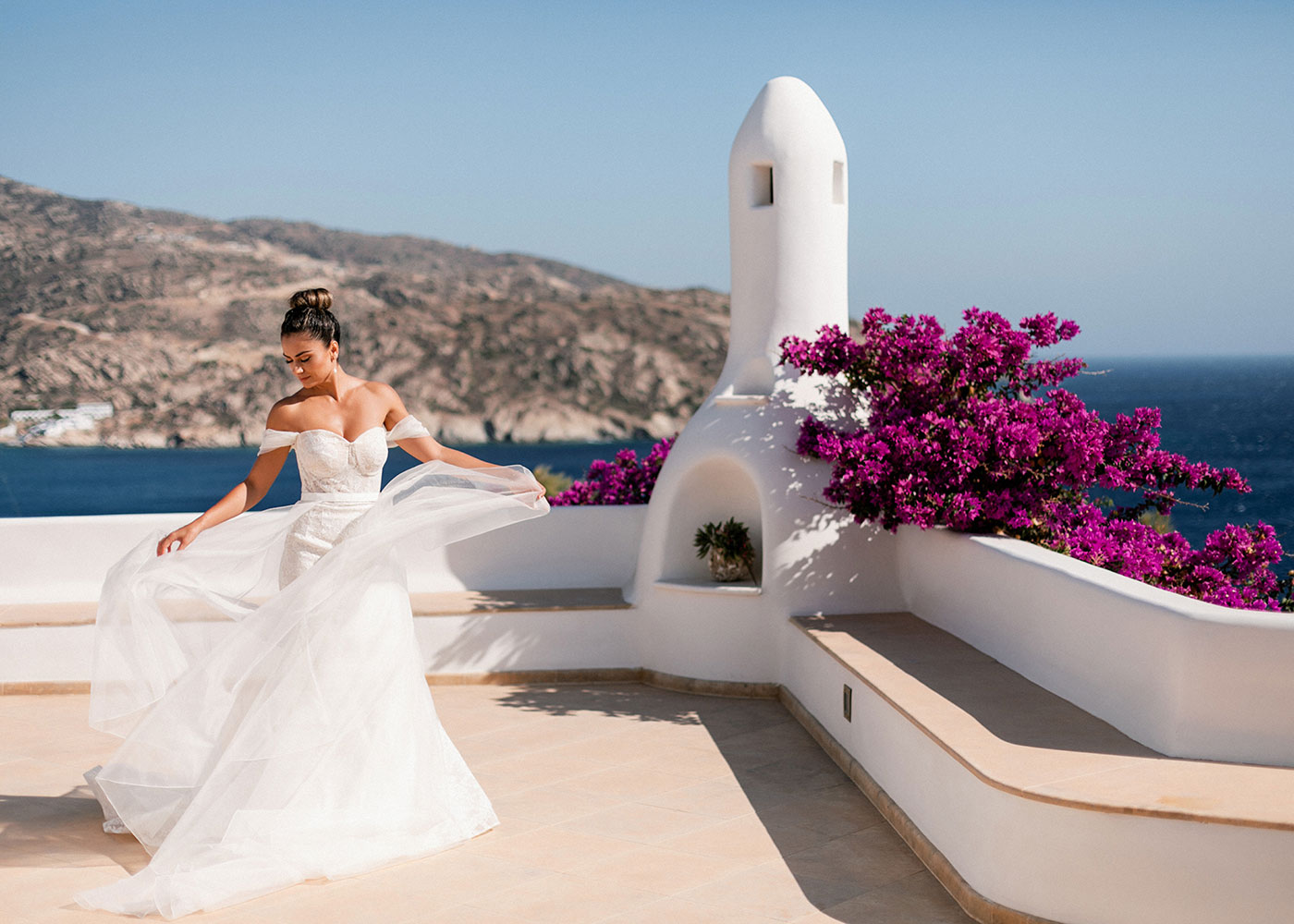 Cycladic Gem Luxury Villa Wedding Venue