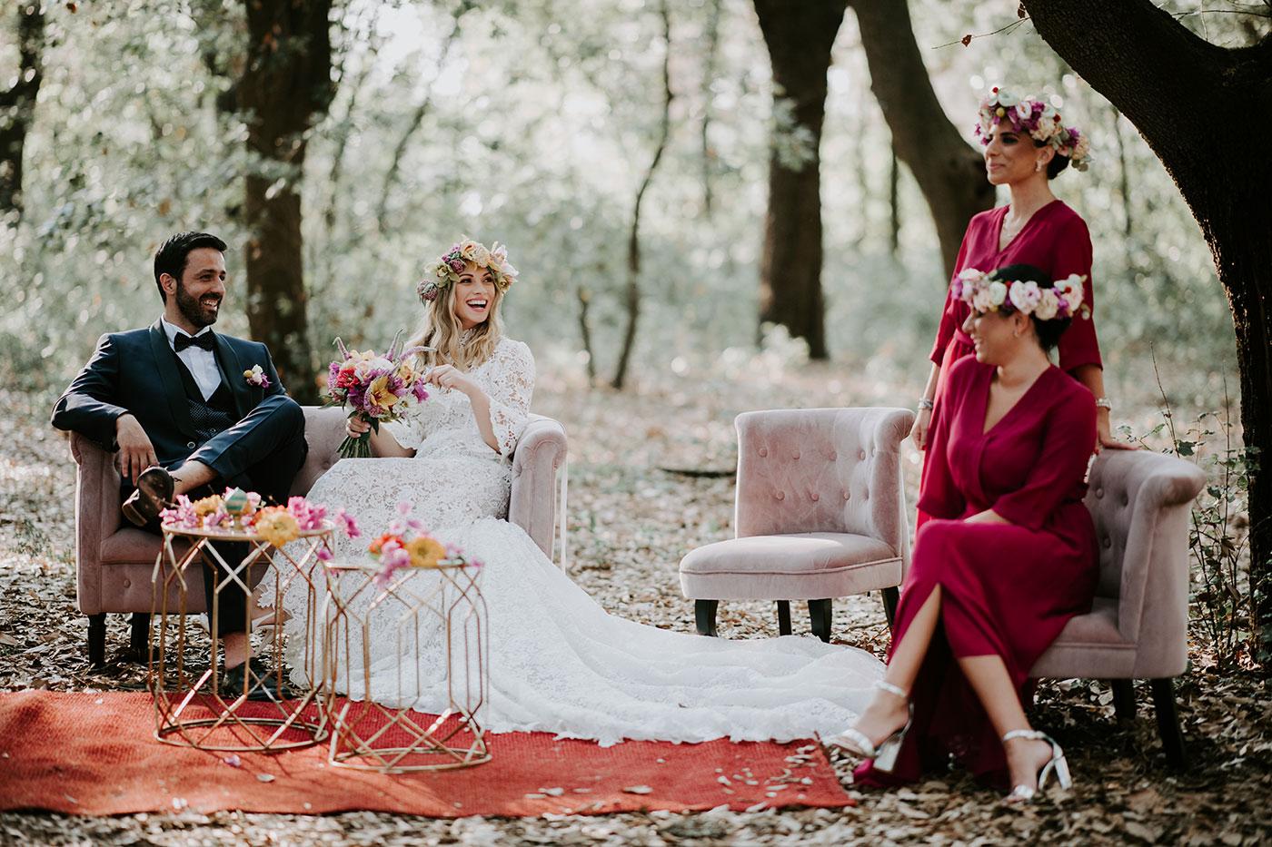 Italian Woodland Wedding