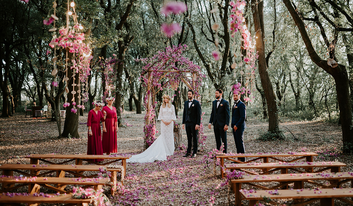 Alessandro & Roberta's Tenuta TRESCA Wedding