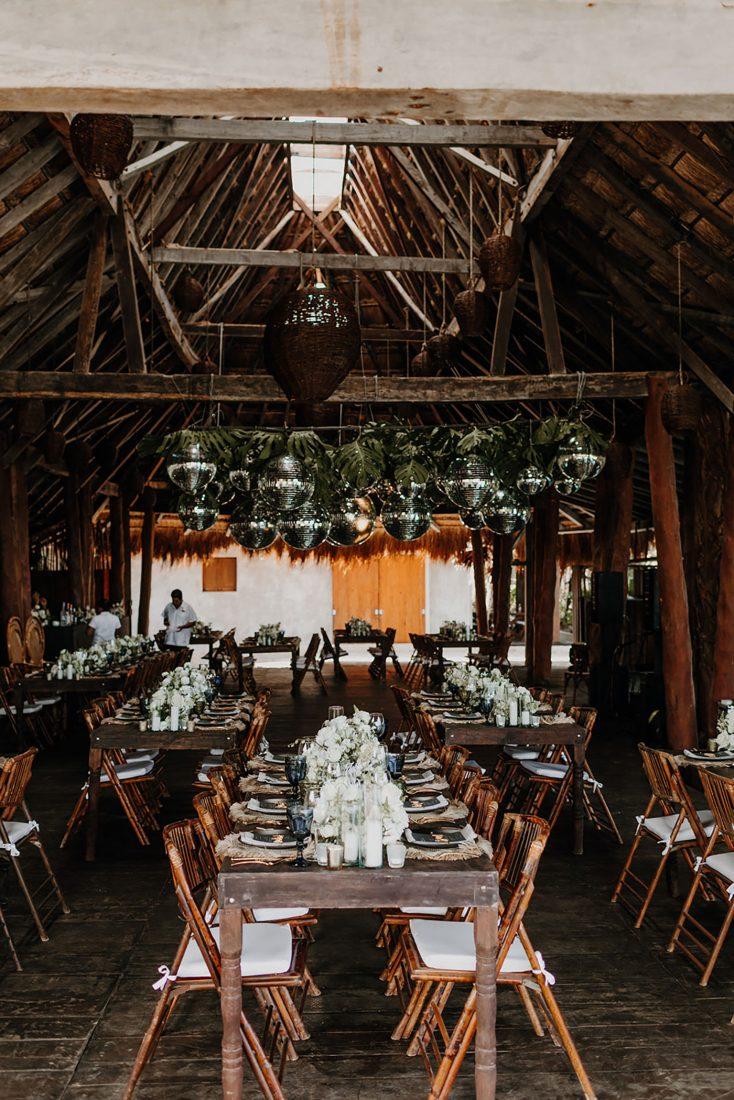 Boho Beach Wedding in Mexico