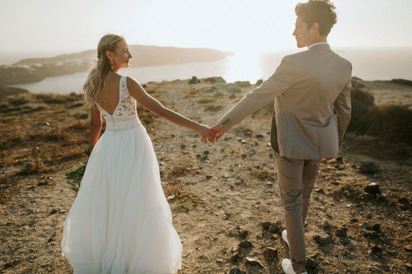 Romantic El Viento Wedding in Greece