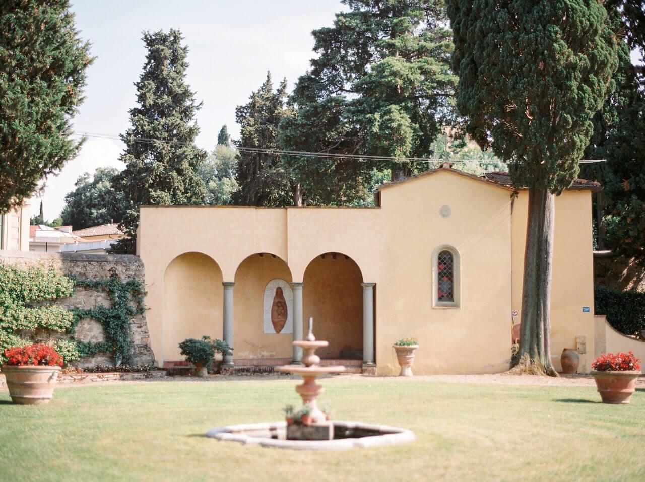 Art Hotel Villa Agape Wedding Venue