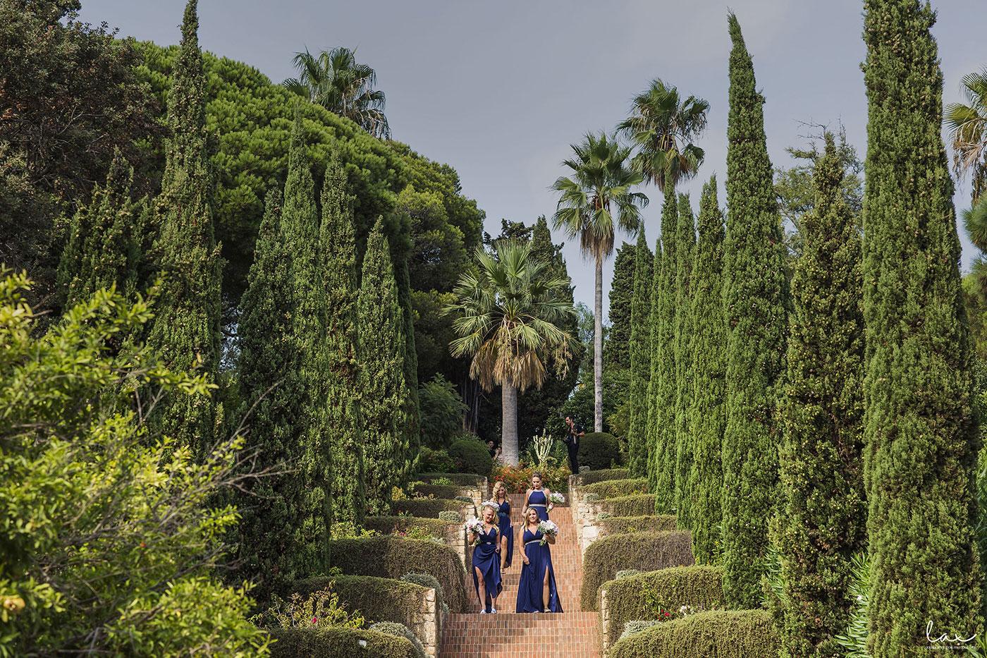 Botanic Garden Marimurtra Wedding Venue