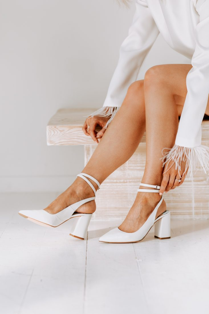 """<a href=""""https://charlottemills.com/collections/wedding-shoes/products/jamie-pearl"""" target=""""_blank"""" rel=""""noopener noreferrer"""">Jamie Pearl by Charlotte Mills</a> £230"""