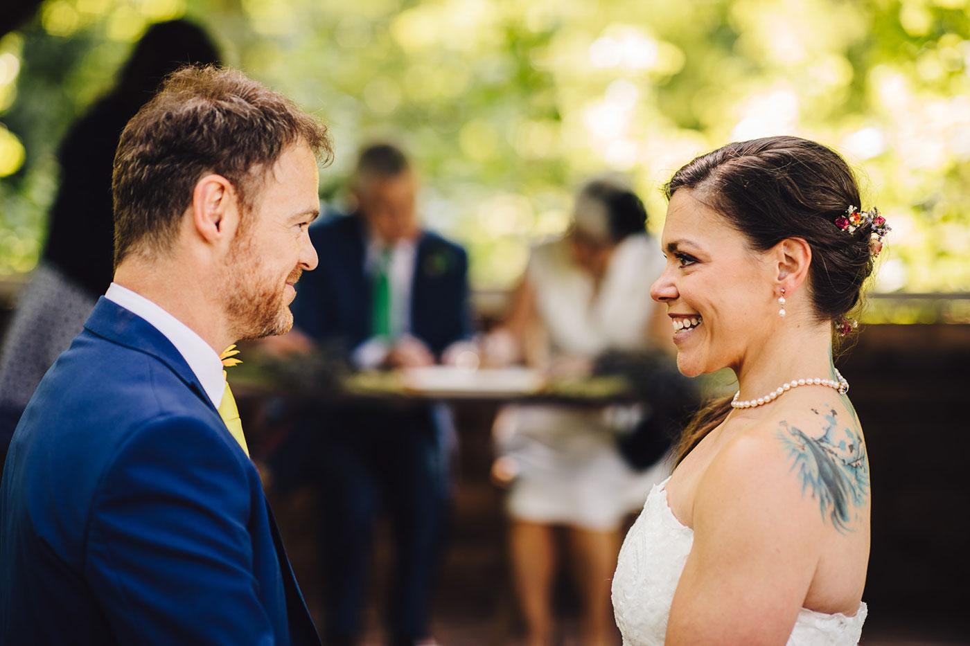 Bekki & Kevin's Woodland Wedding