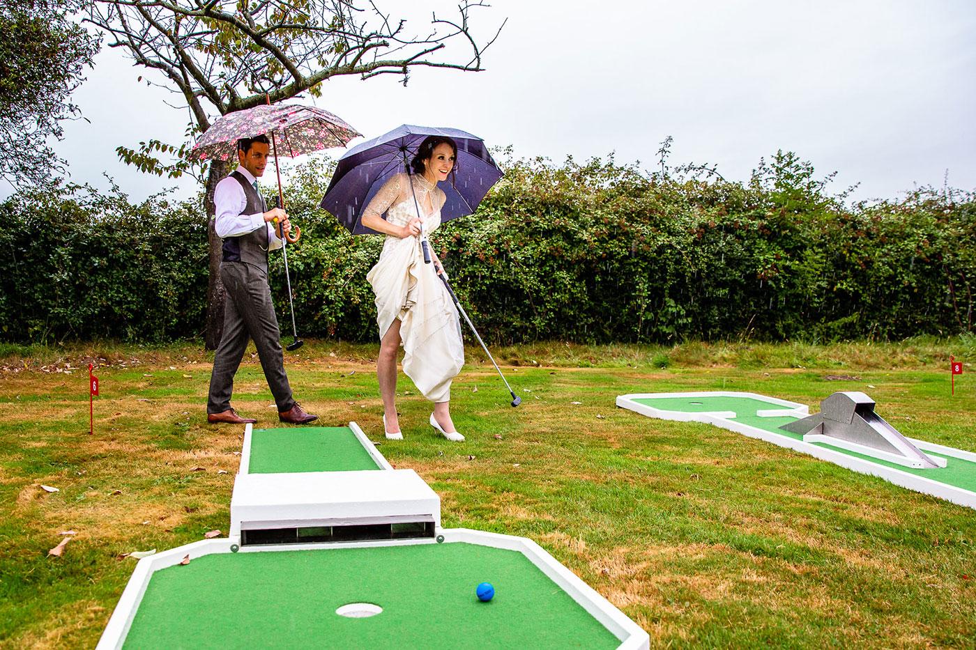 Wedding Day Crazy Golf