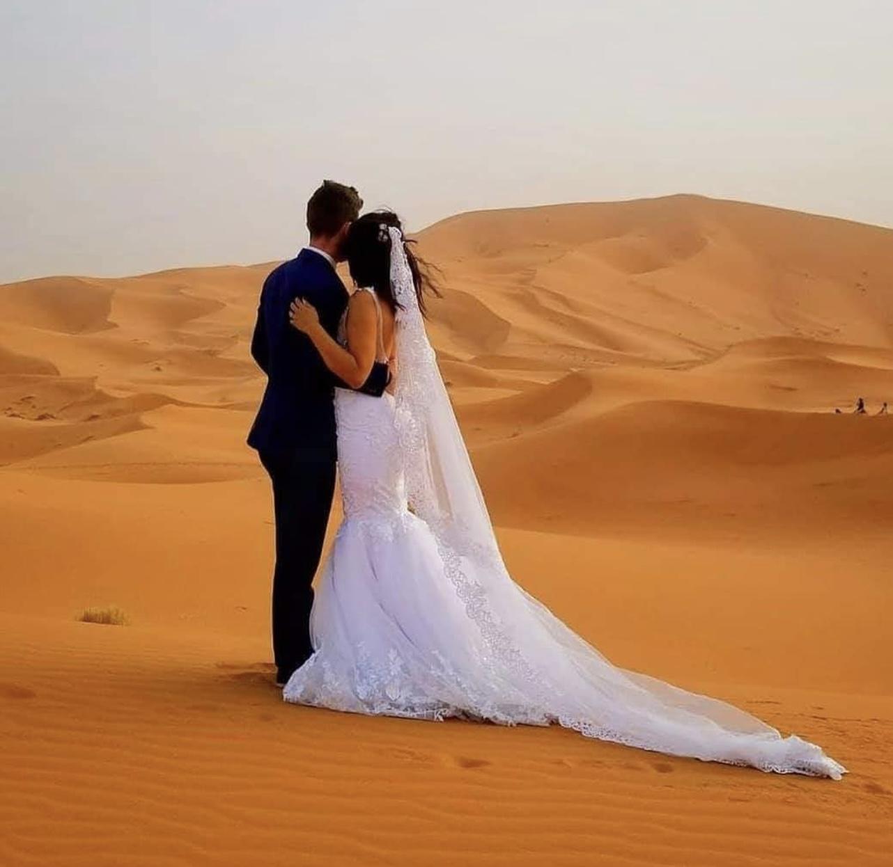 Luxury Camp in Sahara Desert Wedding Venue