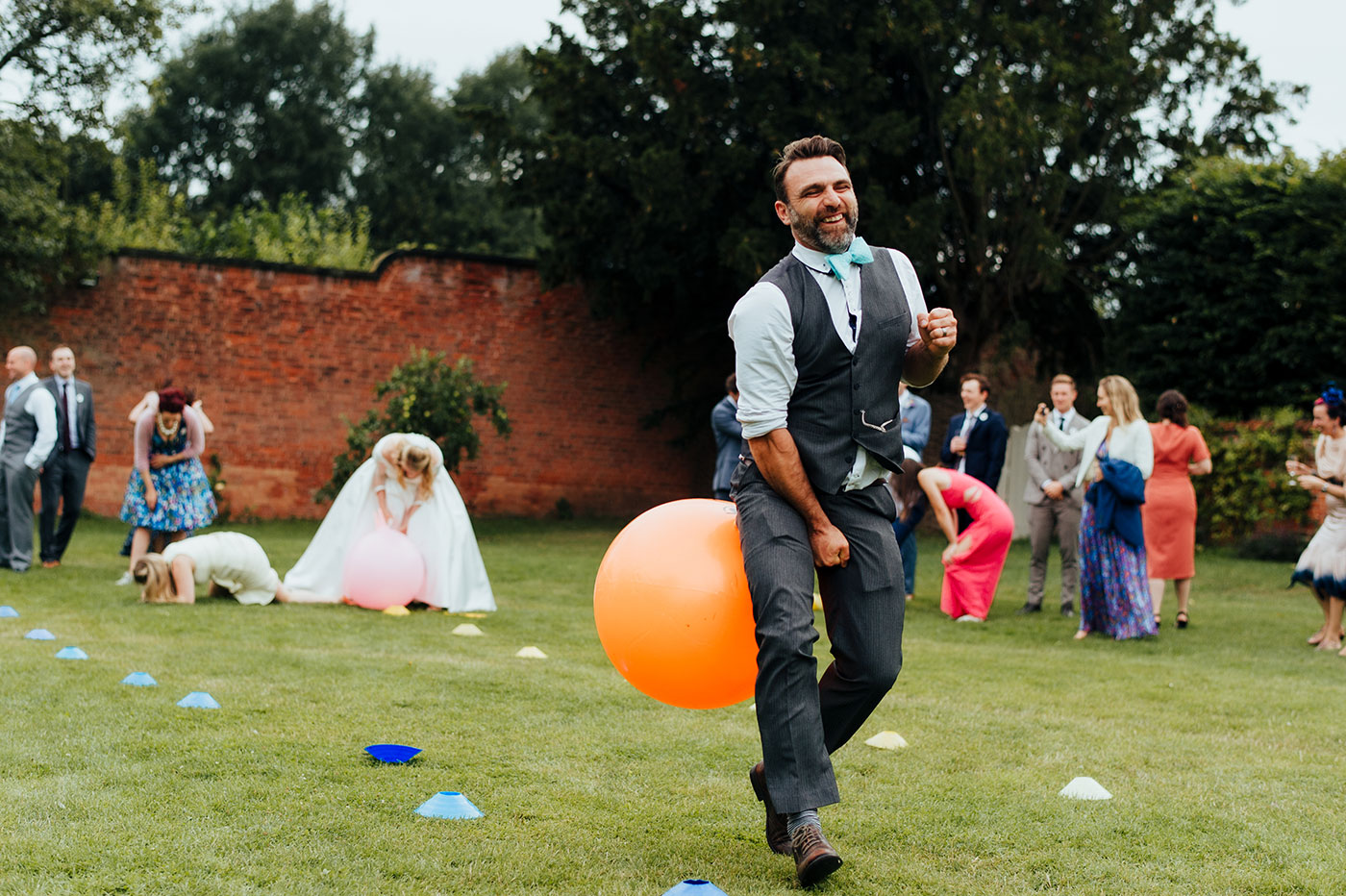 Space Hoppers at Wedding