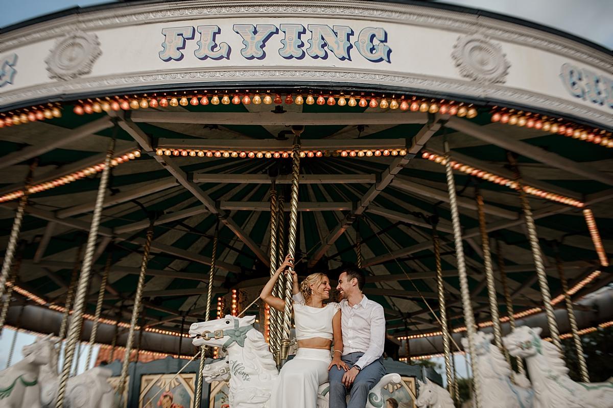 Carousel at Wedding