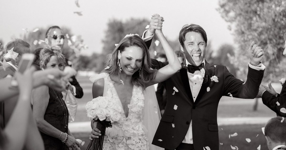 Lisa & Tom's Luxury Italian Villa Wedding in Puglia